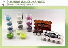 candele profumate ingrosso collezione colored candles gadget tutti i prodotti e