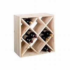fabriquer casier vin zeller 13171 casier 224 vin en bois naturel forme losange
