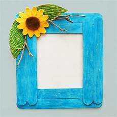 craft stick photo frame crafts craft ideas