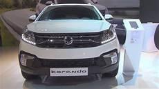 ssangyong korando sapphire ssangyong korando sapphire 2 2 e xdi 220 178 hp 2018 exterior and interior
