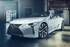 new 2019 lexus lc convertible previewed with detroit