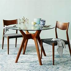 glass dining table west elm uk