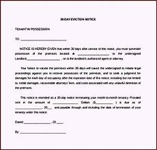 Apartment To Rent For A Day by 30 Day Eviction Notice Letter To Tenant Template