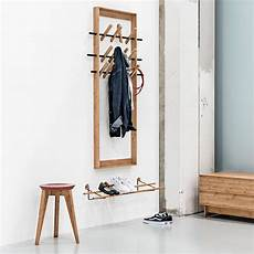 garderobe mit schuhablage we do wood shoe rack bambus messing schmaler flur