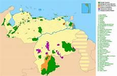 ubicacion de los simbolos naturales en el mapa de venezuela mapa de ubicaci 243 n geogr 225 fica de las diferentes zonas protegidas por el download scientific
