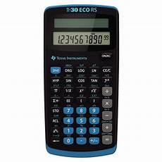 taschenrechner texas instruments ti 30 eco rs instruments taschenrechner ti 30 eco rs 15 95 chf