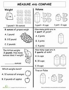 measurement and data worksheets for 1st grade 1415 measure and compare worksheet education