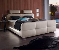 places of style boxspringbett inkl topper und led