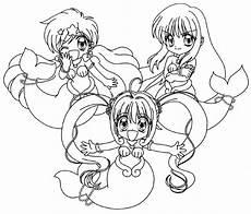 Anime Malvorlagen List Image 00ausmalbild11 Jpg Magical Mahou Shoujo