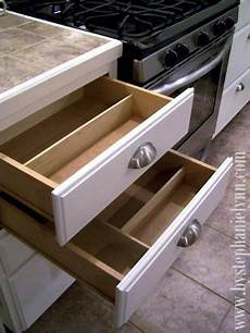 Made Kitchen Drawers by Do It Yourself Drawer Organizers Diy Kitchen Organization