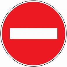 sens interdit panneau panneau alu sens interdit signals