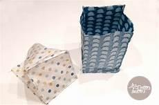 Panier En Tissu R 233 Versible Tuto De Couture Les Petites