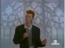 rick astley never gonna let you go