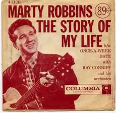 the story of my 45 by marty robbins muskmellon s