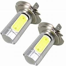 H7 Led Len - 2x h7 xenon white led cob led light h7 l auto light