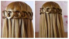 tuto coiffure simple et rapide tresse cascade boucle