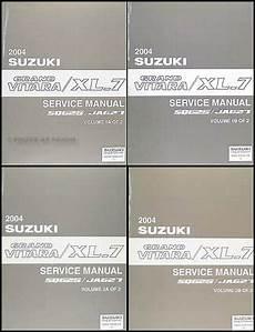 car engine repair manual 2004 suzuki xl 7 lane departure warning 2004 suzuki grand vitara xl 7 repair shop manual 4 volume set original