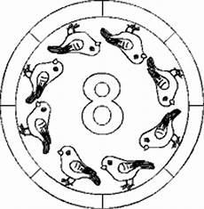 Mandala Malvorlagen Mit Zahlen Zahlen Lernen Mandalas Im Kidsweb De