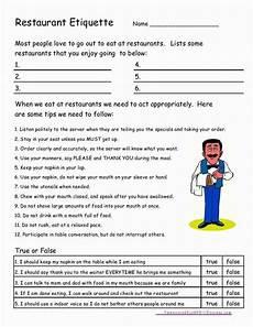 free life skills worksheets for highschool students and free life skills worksheets for special
