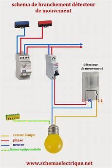 projecteur exterieur avec detecteur de mouvement branchement sch 233 ma electrique simple d 233 tecteur de mouvement sch 233 ma