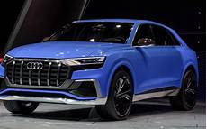 New Audi Suv audi unveils new in electric q8 suv ahead of fully
