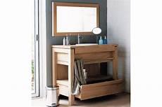 meuble pour vasque salle de bain meuble de salle de bains en teck pour vasque 224 encastrer 1 tiroir la galerie du teck