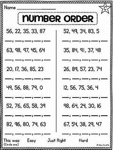 grade math unit 11 comparing numbers skip counting and number order with images 1st