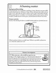 physical science worksheets grade 11 13015 5th grade science worksheets a burning matter science worksheets elementary education