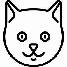 katze vorlage zum ausschneiden cat free animals icons