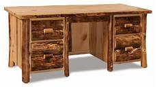 pine office furniture for the home office amish handcrafted rustic pine executive desk
