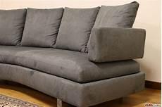 divani tondi divano moderno semitondo in tessuto sfoderabile di grandi