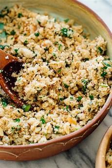 mediterranean cauliflower rice cookie and kate