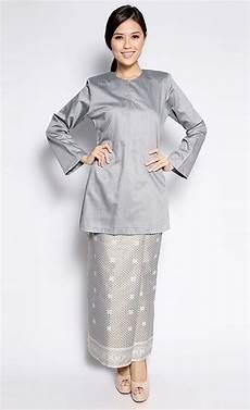 songket kurung in grey jakel via fashionvalet baju kurung gaun dan pakaian