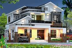 kerala model house plans with photos 2689 sq ft mixed roof house rendering kerala house