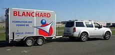 tracter une caravane sans permis e permis be permis voiture remorque 224 dreux formations