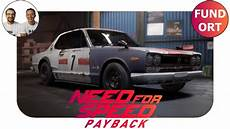Fundort Stillgelegtes Auto Nissan Skyline 2000 Gt R Nfs