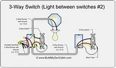 electrical 3 way switch loop wired with two 14 2 and one