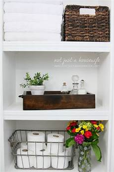 shelf ideas for bathroom how to decorate with plants not just a