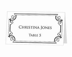Avery Table Place Card Template Avery Table Tent Template Shatterlion Info