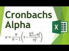 cronbachs alpha berechnen excel cronbachs alpha in excel berechnen reliablit 228 t
