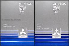 auto repair manual online 1984 mitsubishi starion electronic toll collection 1987 mitsubishi starion repair shop manual original 2 vol set