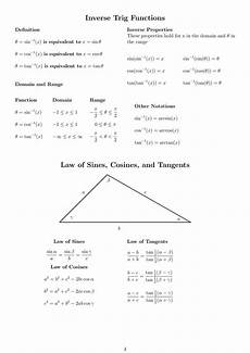 trigonometric equations formulas おしゃれな tanabc formula じゃごやめ