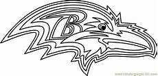 baltimore ravens logo printable coloring page for and