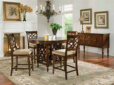 standard height counter height and bar height tables standard furniture woodmont counter height table set