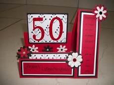 carte anniversaire 50 ans a faire soi meme jlfavero