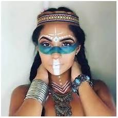 Resultado De Imagen Para American Indian Makeup Fotos