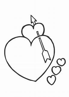 ausmalbilder valentinsherz valentinstag ausmalbilder