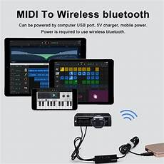 Midi Wired Bluetooth Wireless Cable Adapter by Other Audio Visual Accessories Midi To Usb Wired To