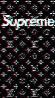 Supreme X Lv Background by Louis Vuitton X Supreme Pattern Wallpaper Wallpapers