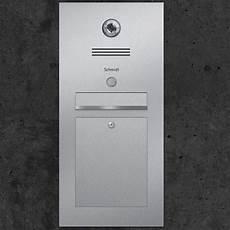 Briefkasten Inkl Videosprechanlage In Edelstahl Gira